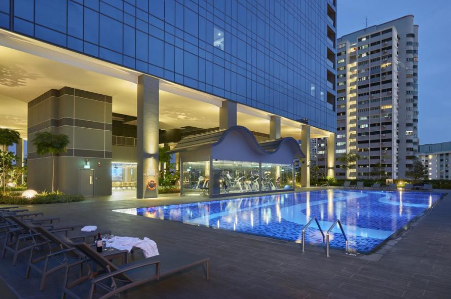 Drone footage of Hotel Boss | Singapore