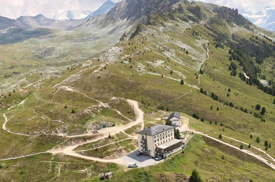 Weisshorn Hotel by Drone | Switserland