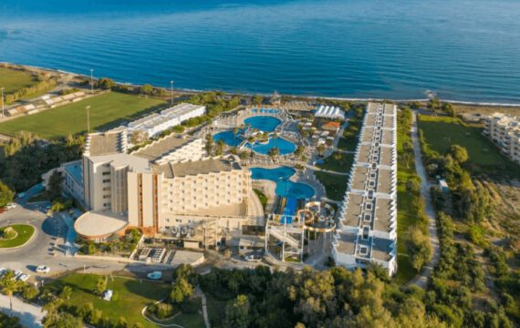 Hotel Creta Princess Aquapark & Spa | by drone
