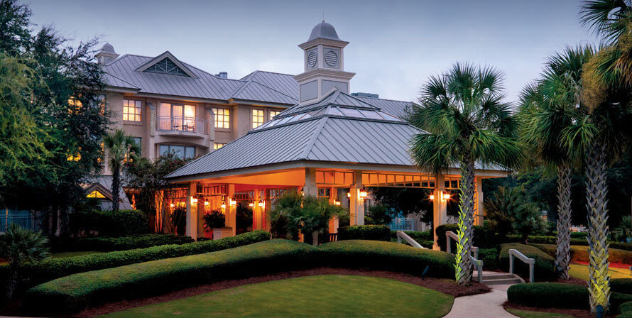 Sea Pines Resort From Above | USA