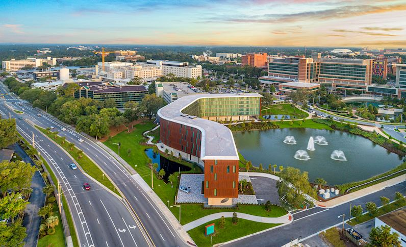 Hotel Eleo at the University of Florida From Above | USA